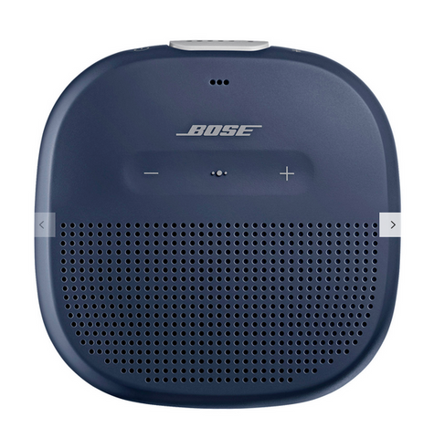 Father's Day gift ideas: Bose® SoundLink® Micro Water-resistant Portable Bluetooth Speaker in Midnight Blue