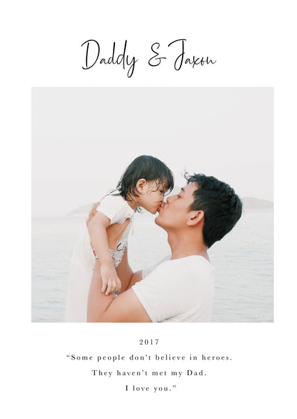 Personalised Photo Gift for Dad | Birthday Photo Gift for Fathers