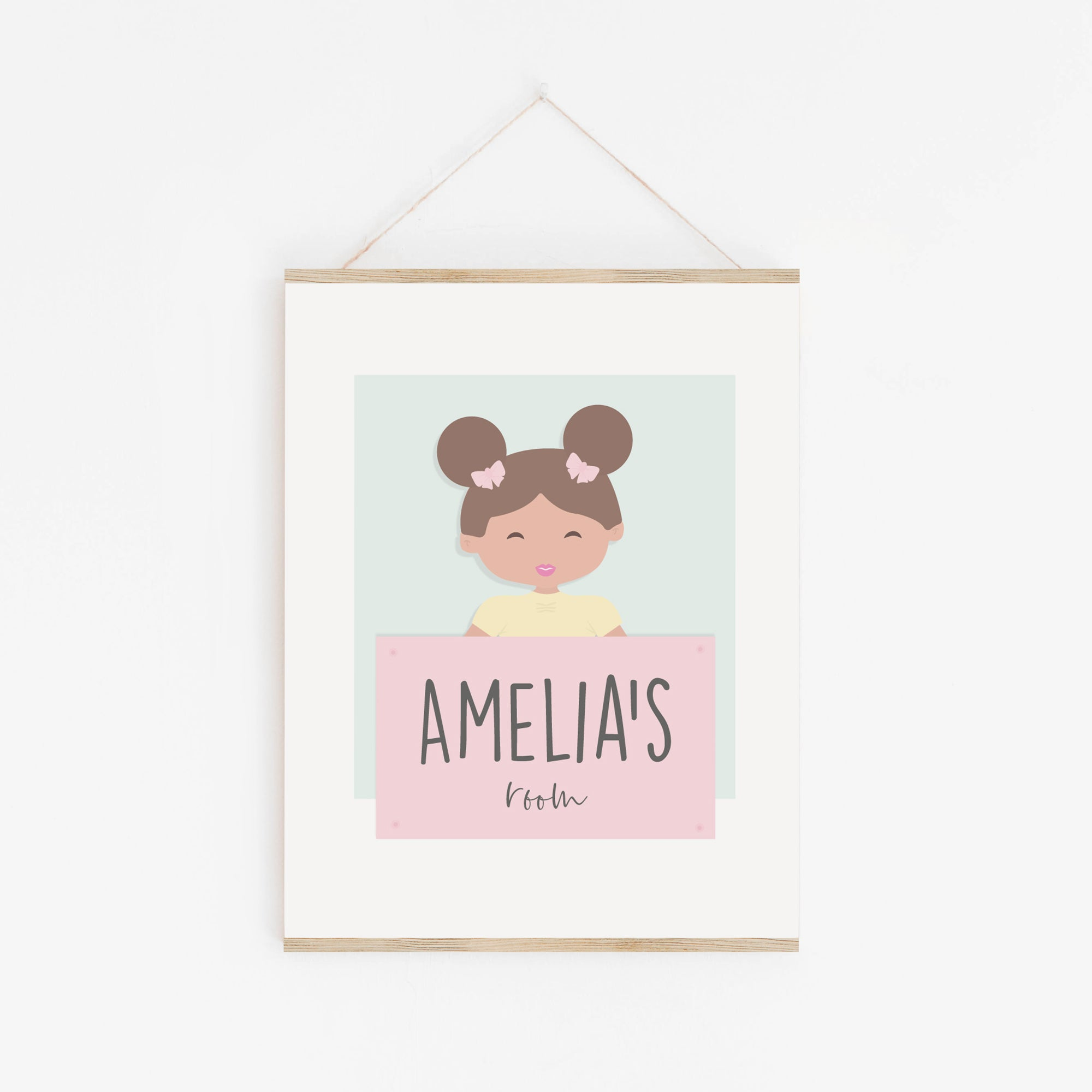 Baby handmade wall prints | unique newborn gift
