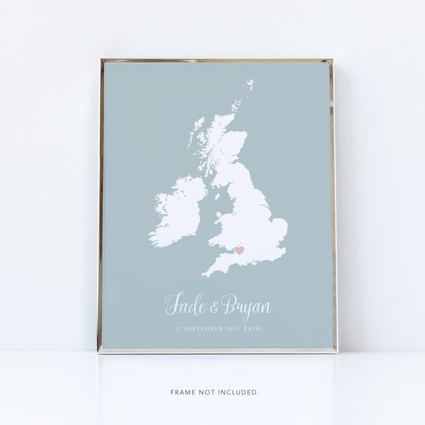 Personalised Engagement Map of that Special Place