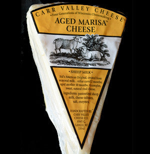 Carr Valley Aged Marisa Cheese