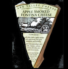 Carr Valley Apple Smoked Fontina Cheese