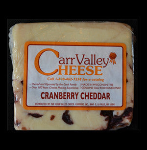 Carr Valley Cranberry Cheddar