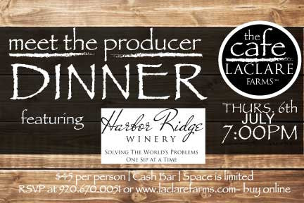 LaClare Farms Meet the Producer Dinner - July 6, 2017