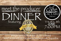 LaClare Farms Meet the Producer Dinner - June 8, 2017