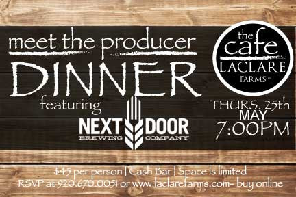 LaClare Farms Meet the Producer Dinner - May 25, 2017