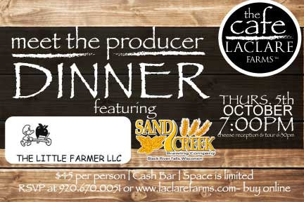 LaClare Farms Meet the Producer Dinner - October 5, 2017
