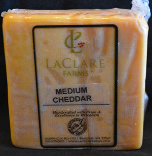 LaClare Farms Medium Cheddar