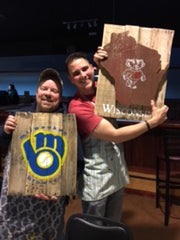 Painting Class: Sports Wooden Sign