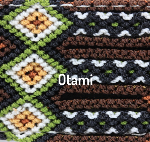 Hand-Woven Martingale