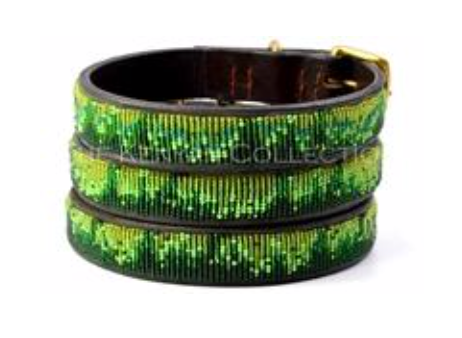 Rainforest Beaded Collar
