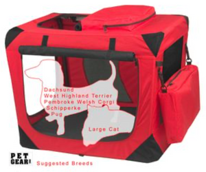 Generation II Soft Crate-Red Poppy