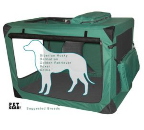 Generation II Soft Crate-Moss Green