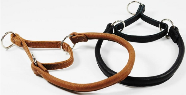 Rolled Leather Martingale