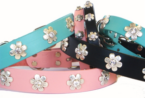 Flower Crystal Collar