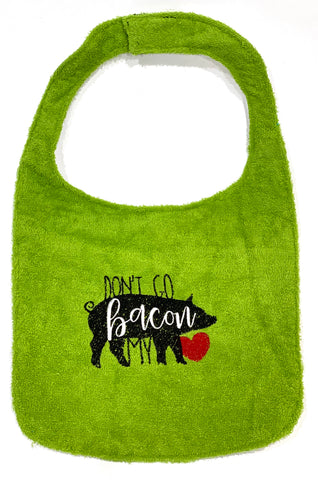 Embroidered Drool Bib