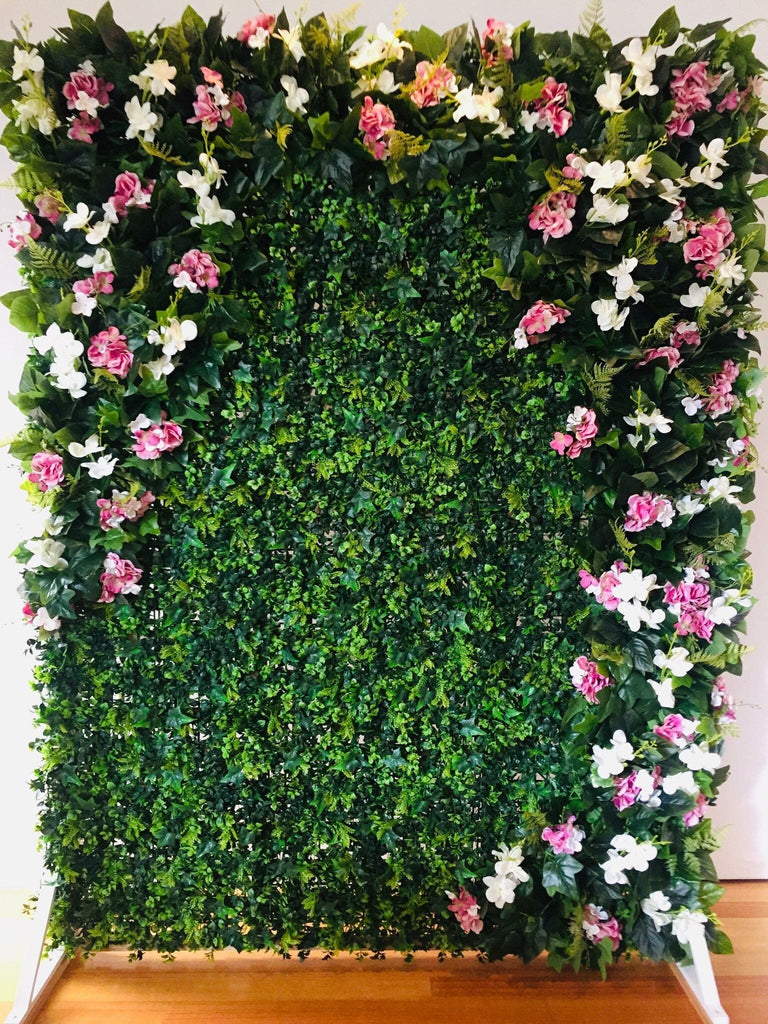 Five uses for a flower wall