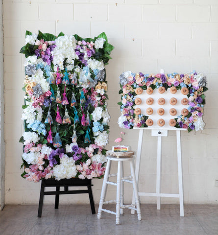 Prism Lolly bag Flower Wall