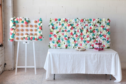 donut wall hire melbourne rougeflowerwalls