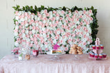 Pearl Buffet Flower Wall