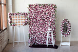 purple flower wall hire melbourne rougeflowerwalls