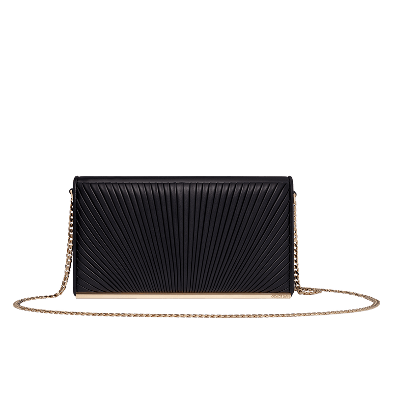 Ballet Lesson Large Clutch in Black