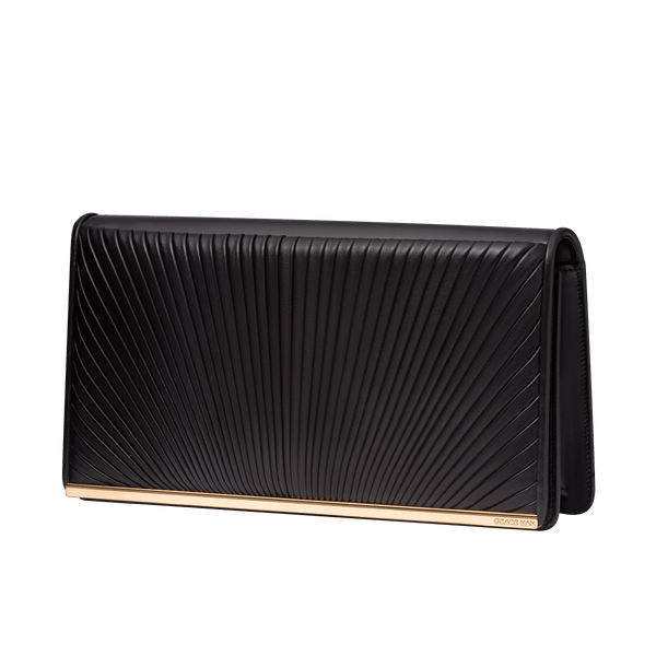 Ballet Lesson Large Clutch Black