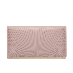 Ballet Lesson Large Clutch in Rose Smoke