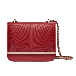 Grace Han Ballet Lesson Small Chain Bag in Red