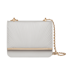 Grace Han Ballet Lesson Small Chain Bag in White