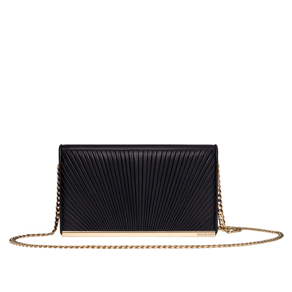 Ballet Lesson Small Clutch Bag Black