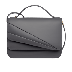 Butterfly Large Double Flap Gull Grey