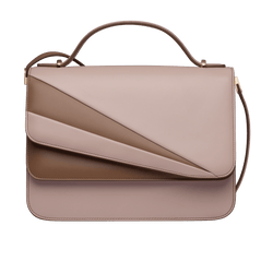 Grace Han Butterfly Large Double Flap in Rose and Clay