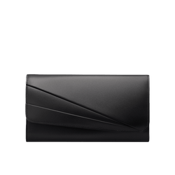 Grace Han Butterfly Long Wallet in Black