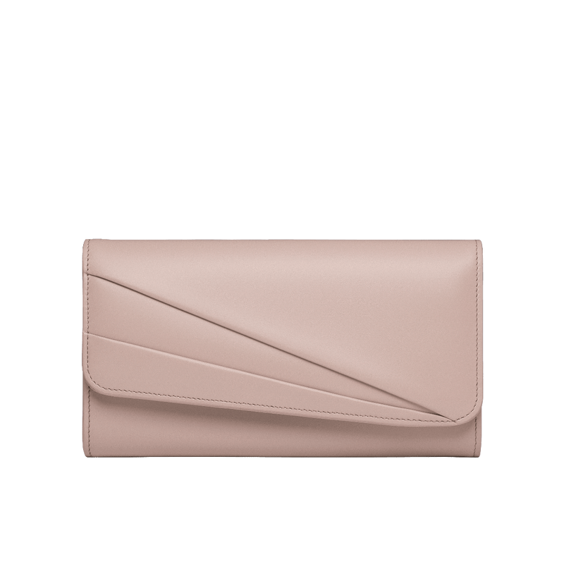 Grace Han Butterfly Long Wallet in Rose