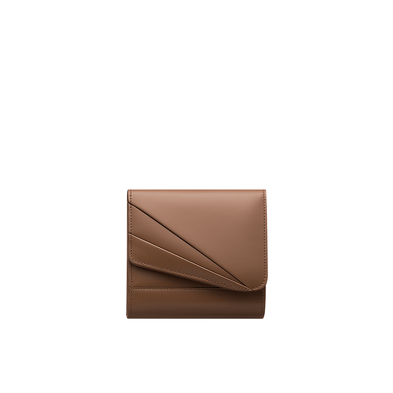 Grace Han Butterfly Short Wallet in Clay