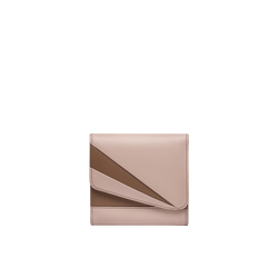 Grace Han Butterfly Short Wallet in Rose Smoke and Clay