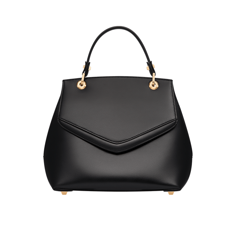 Love Letter Large Top Handle Bag Black