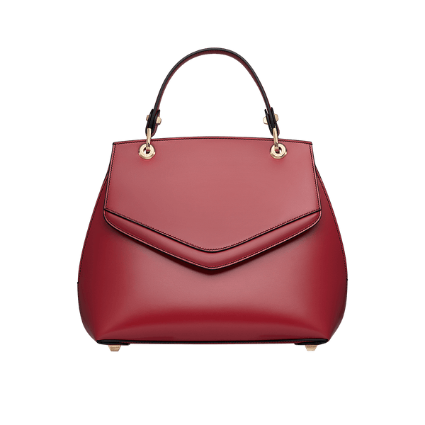 Love Letter Large Top Handle Bag Red