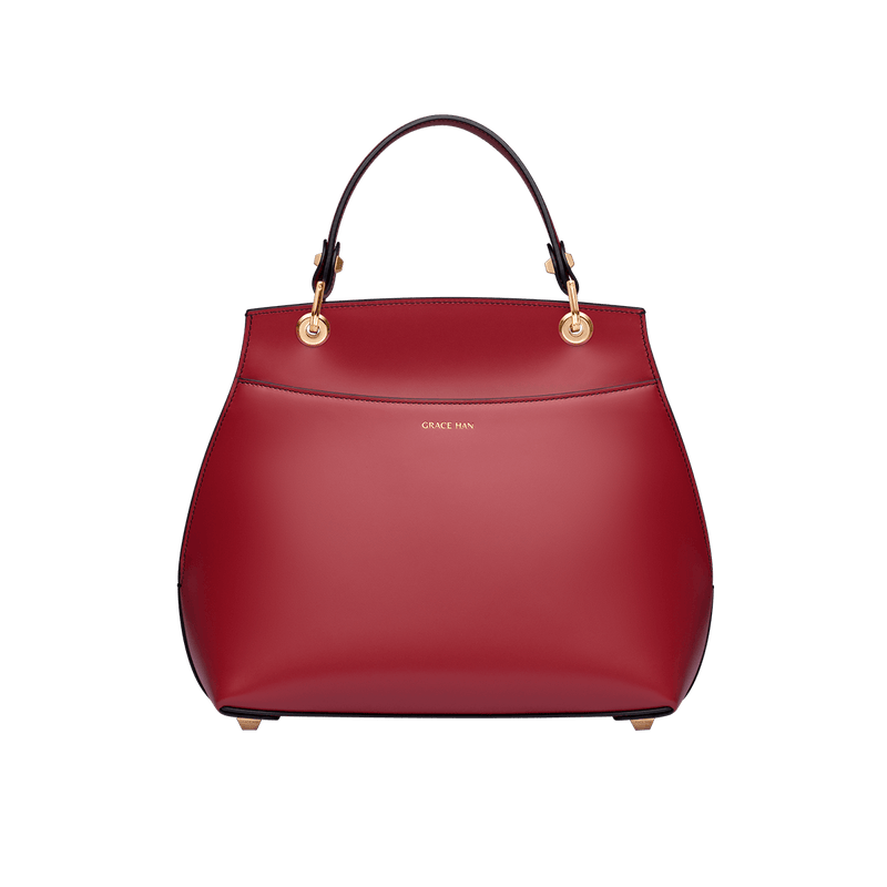 Love Letter Small Top Handle Bag Red