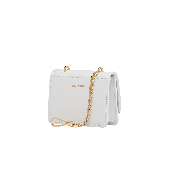 Ballet Lesson Micro Bag White