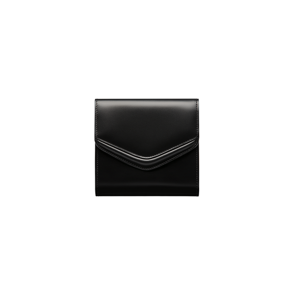 Love Letter Short Wallet Black