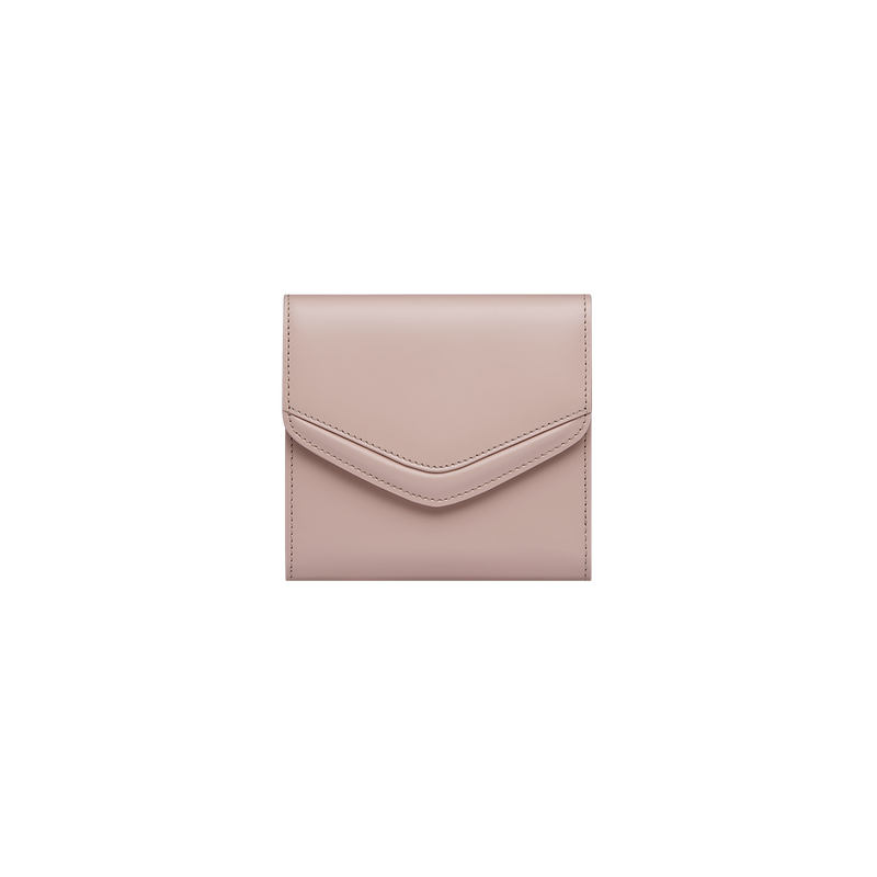 Love Letter Short Wallet Rose Smoke