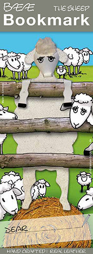 12-01 Baeae - White Sheep at fence