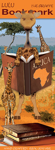 15-02 Lulu - Giraffe reading book
