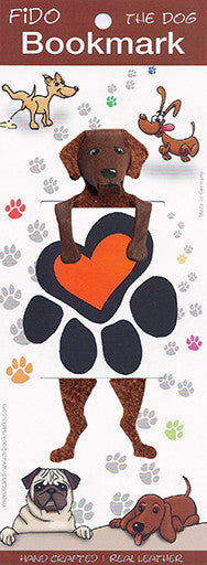 17-22 Fido - Paw Print with brown dog