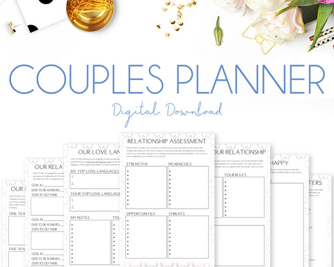 Couples Planner - Geometric