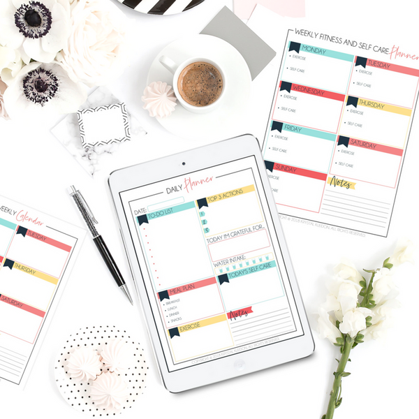 Need a planner to help you get the essentials in life back on track? Check out the Mini Life Planner! #lifeplanner #printable #planner #organizeyourlife