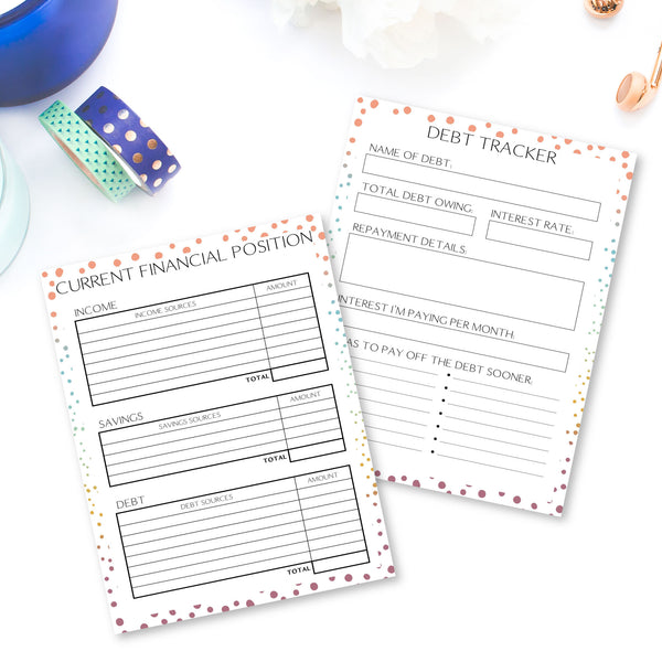 Planner Bundle - Colourful Dots
