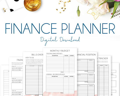 Finance Planner - Watercolour